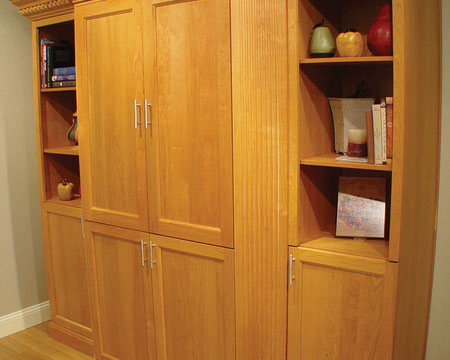 Examples Of Living Room Cabinet Installation Projects